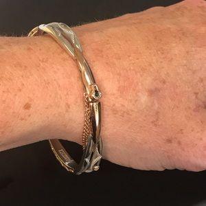 Tacori Promise Bracelet; 18k yellow and 925 silver